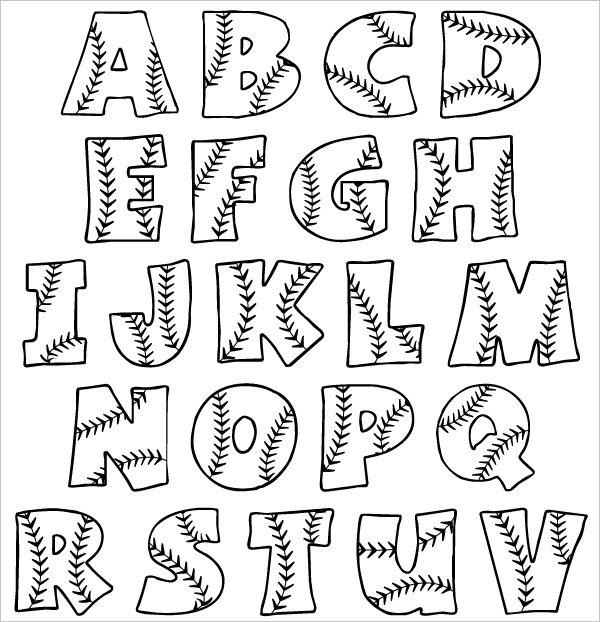 Bubble Letter Drawing