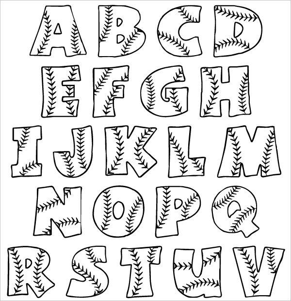 600x622 3D Bubble Letters Alphabet Theveliger