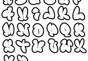 300x210 Cool Letter Fonts To Draw Cool Bubble Letter Fonts To Draw Best 25