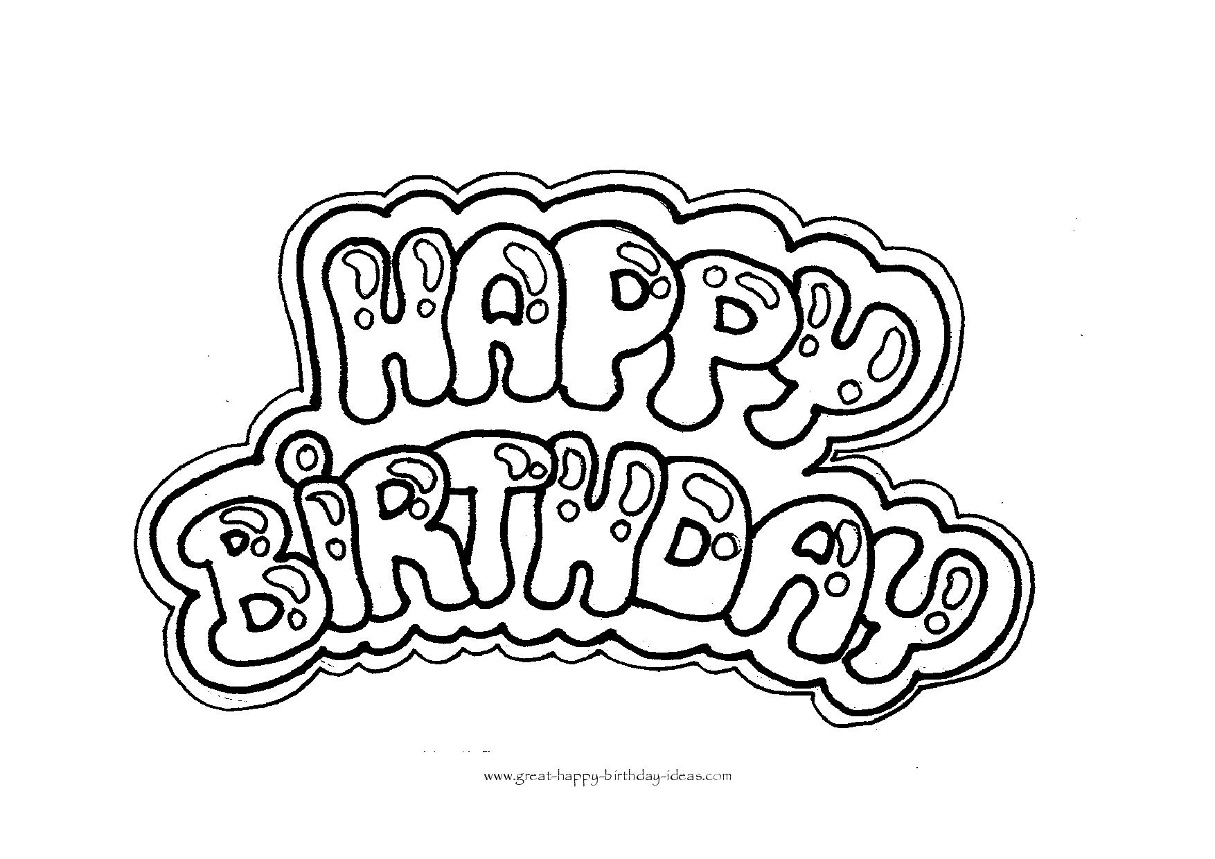 1754x1240 Happy Birthday Coloring Letters