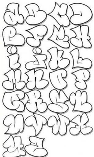 307x512 Bubble Letters Letters~~ Fonts, Graffiti And Drawings