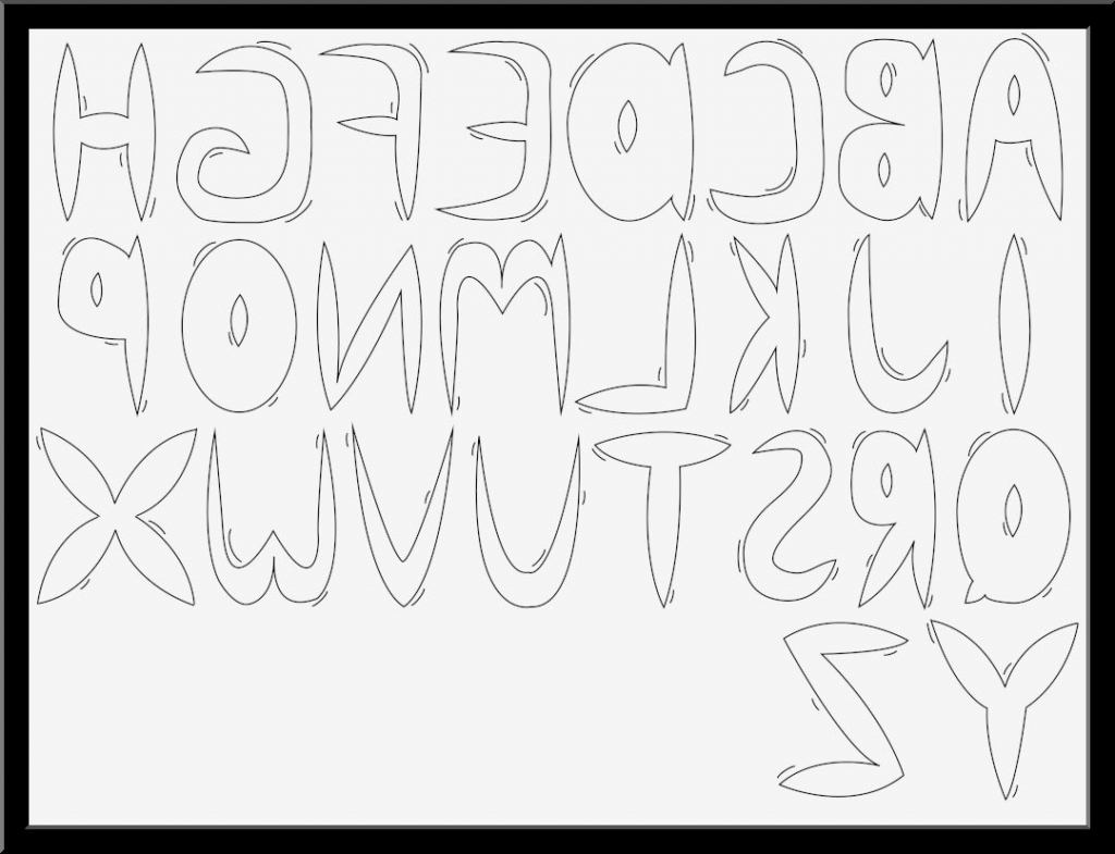 bubble letters drawing draw cool fonts getdrawings