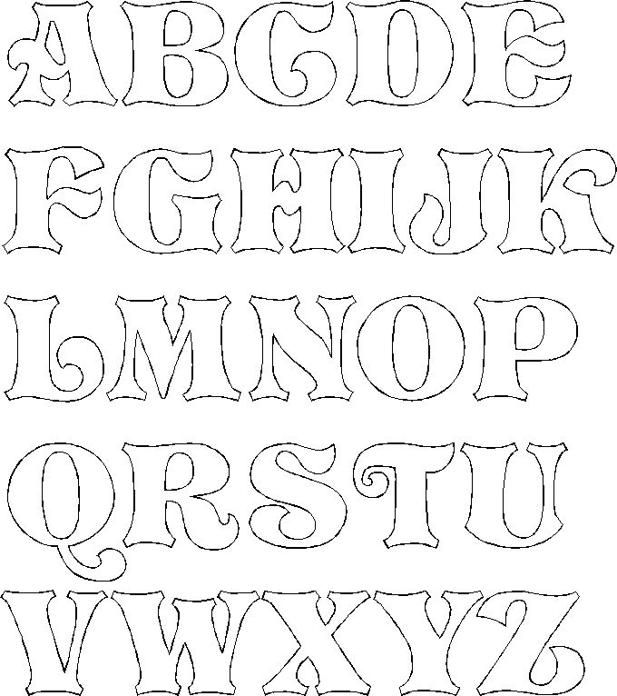 Bubble Letters Drawing At Getdrawings Com Free For Personal Use