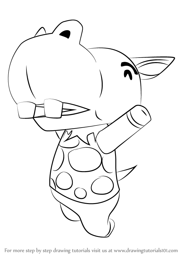 598x844 Learn How To Draw Bubbles From Animal Crossing (Animal Crossing