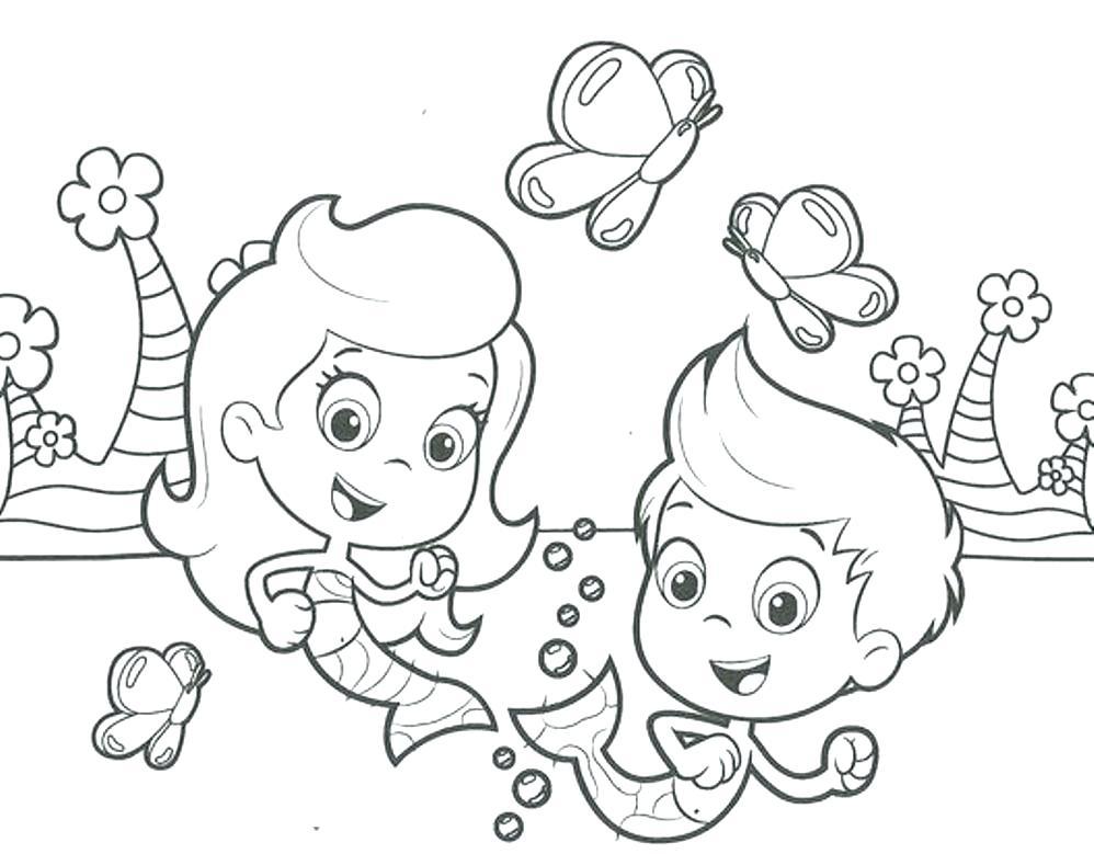 998x779 Bubbles Coloring Pages Download Bubbles Guppies Coloring Pages