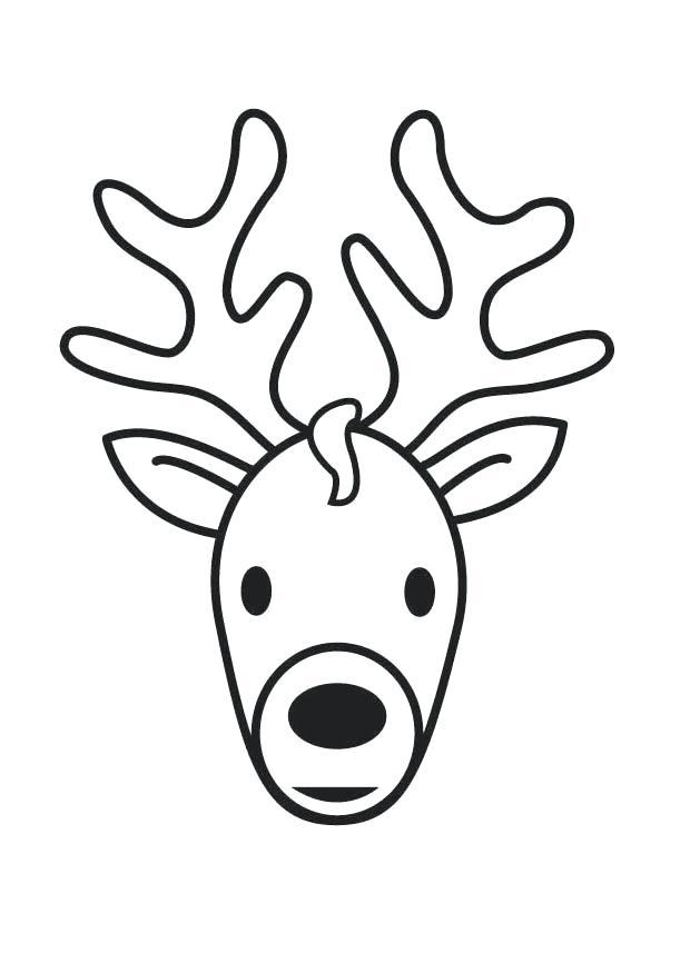 620x875 Whitetail Deer Coloring Pages Deer Head Silhouette Cool Deer Head