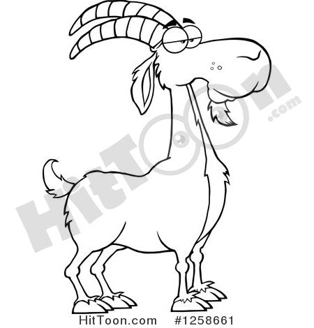 450x470 Boer Goat Clipart