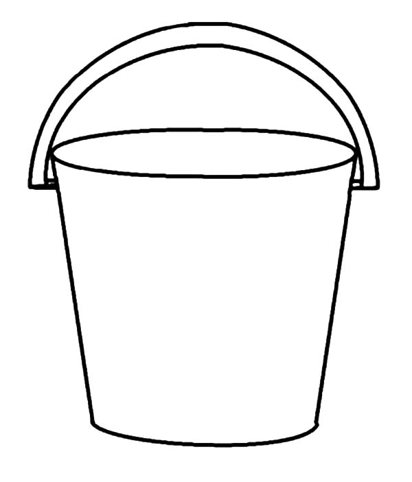 Bucket Drawing At Getdrawings Com Free For Personal Use