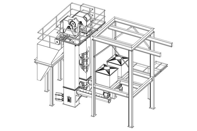795x528 Screw Conveyor Amp Bucket Elevator Dav Engineering