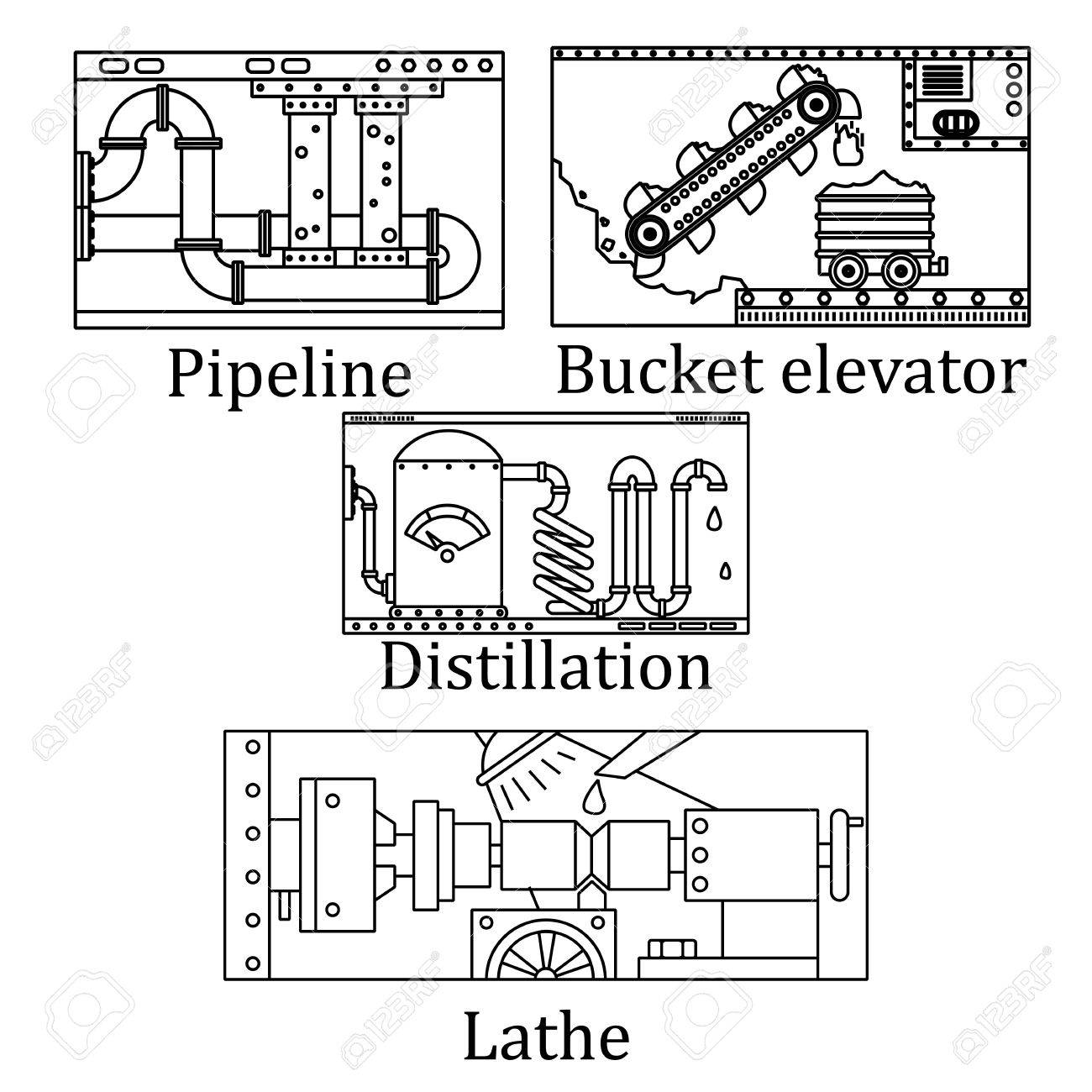 Bucket Elevator Drawing at GetDrawings com | Free for