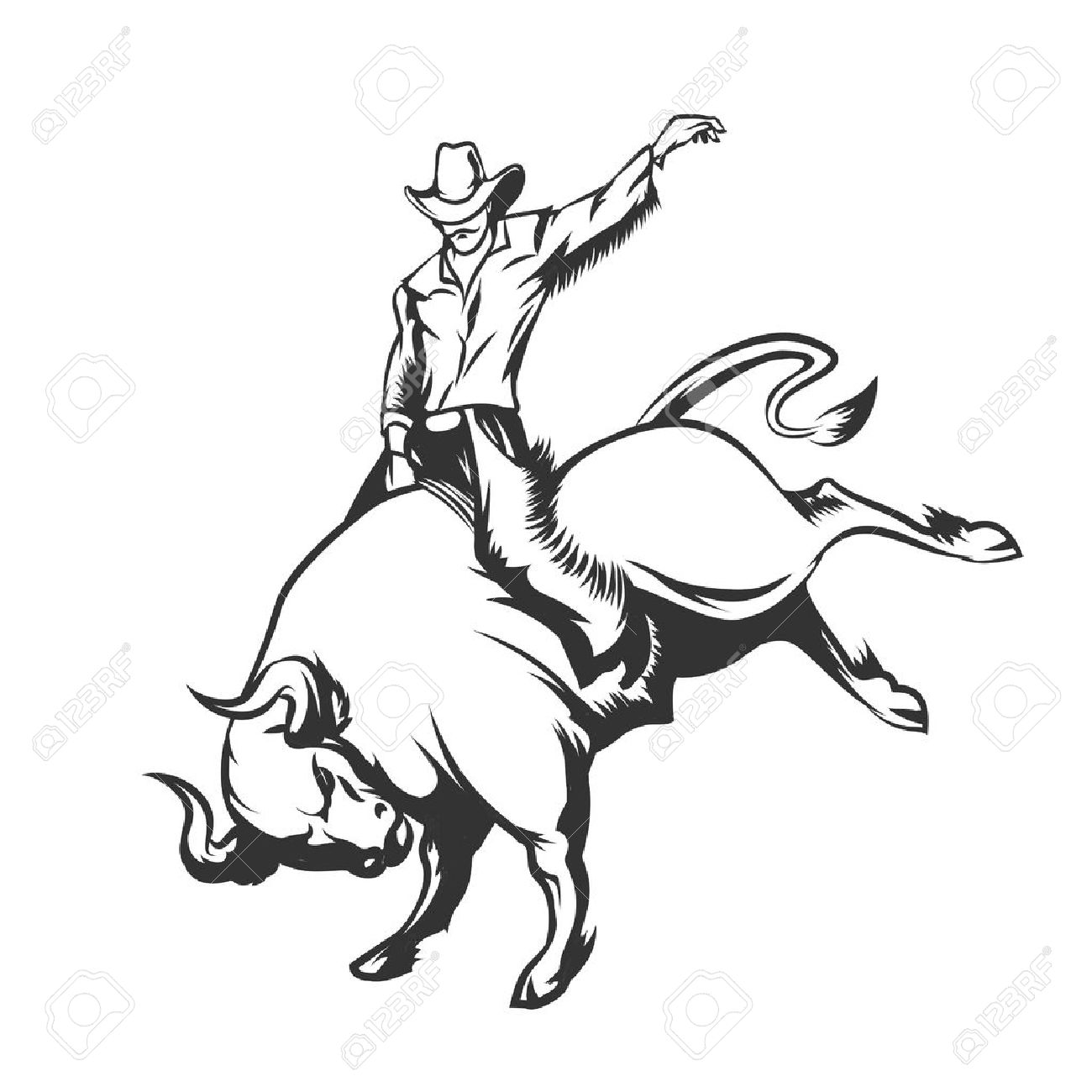 1300x1300 502 Bucking Stock Vector Illustration And Royalty Free Bucking Clipart