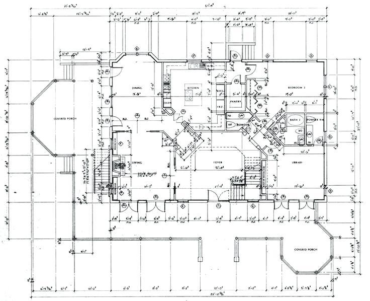736x598 Detailed Floor Plan