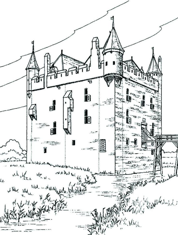 736x973 48 Best Castle Coloring Pages Images On Coloring