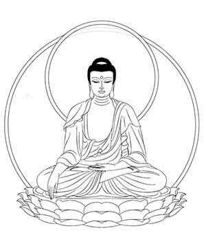 Buddah Drawing