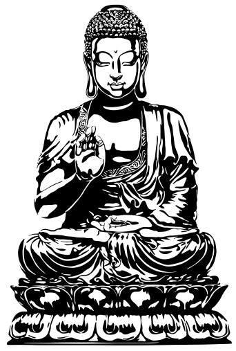 342x507 Buddha Drawings Free Floating Buddha By ~trust Nowun