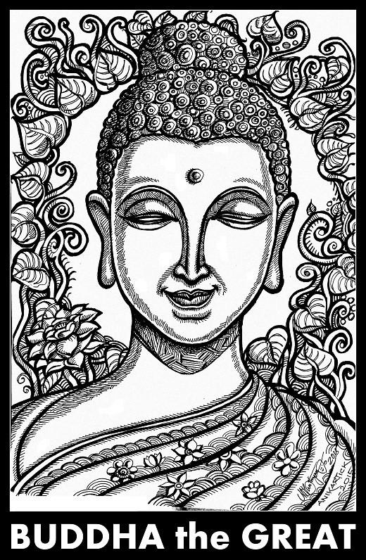 520x796 Buddha Art