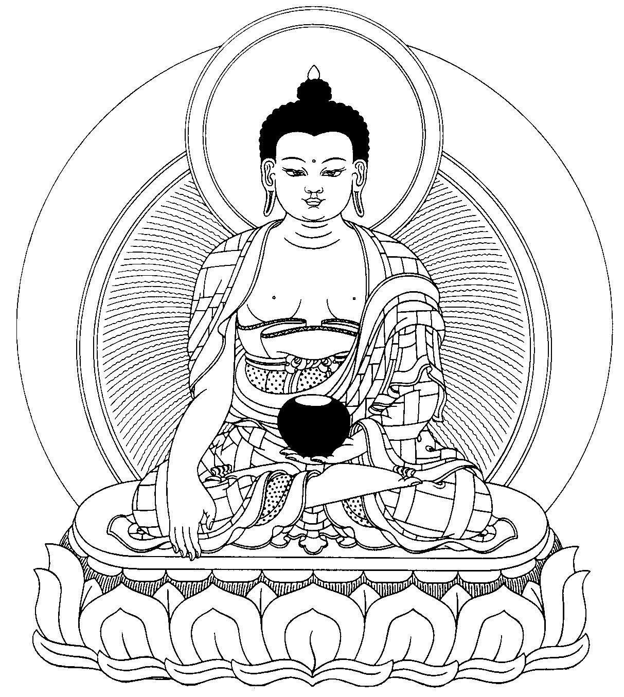 1213x1355 Shakyamuni Buddha Puja Ebook