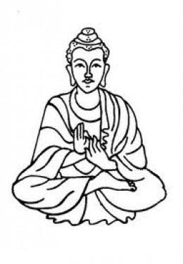 260x375 Buddha Clipart