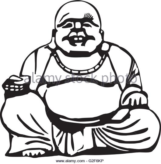 529x540 Sitting Buddha Stock Vector Images