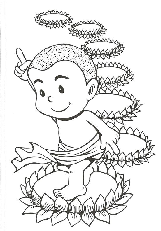 buddha cartoon drawing at getdrawings com free for personal use