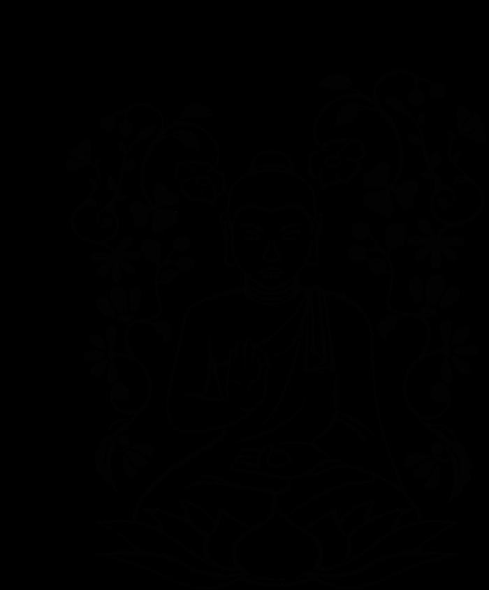 700x845 Buddha Vitarka Mudra