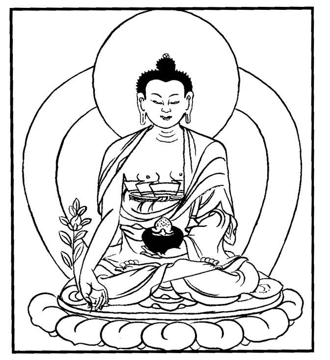 672x732 Buddha Clipart