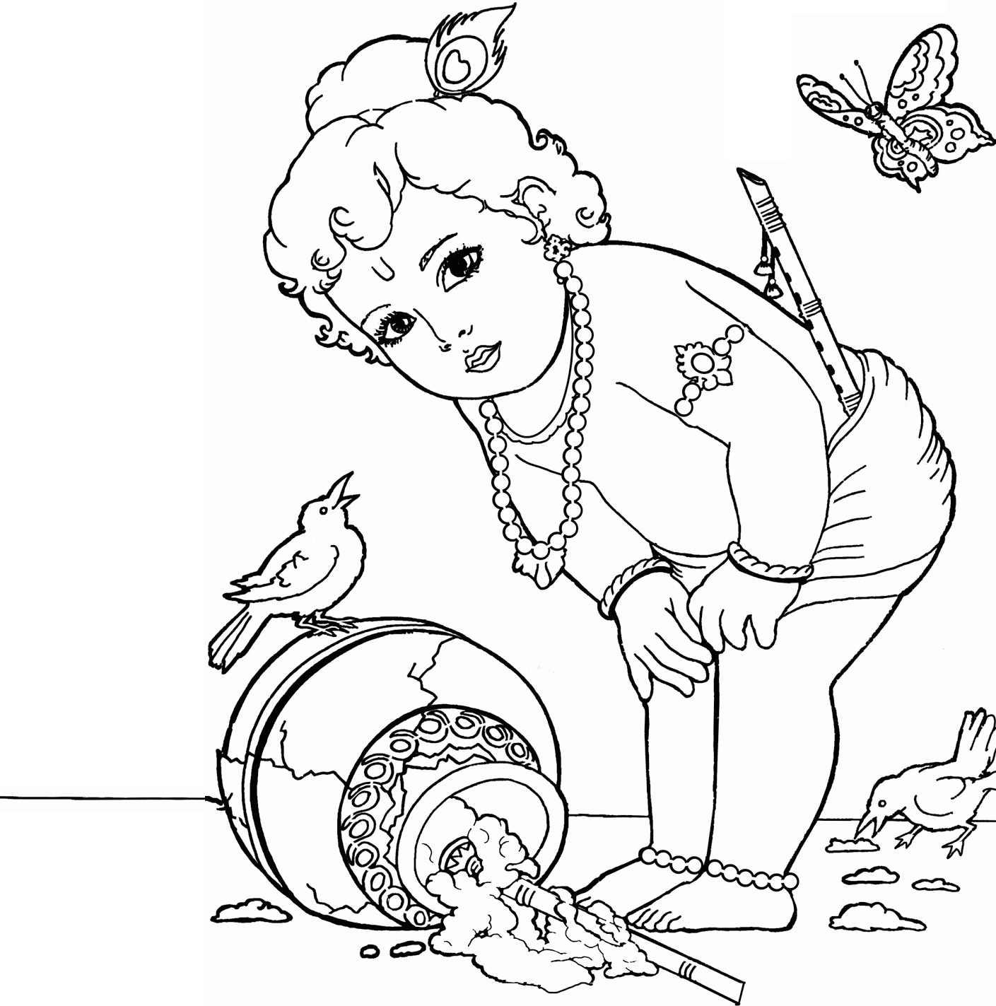 1409x1423 Lord Vishnu Pencil Sketch Images Sitting Pencil Sketch Of Lord