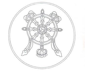 350x303 The Eight Auspicious Symbols Of Buddhism
