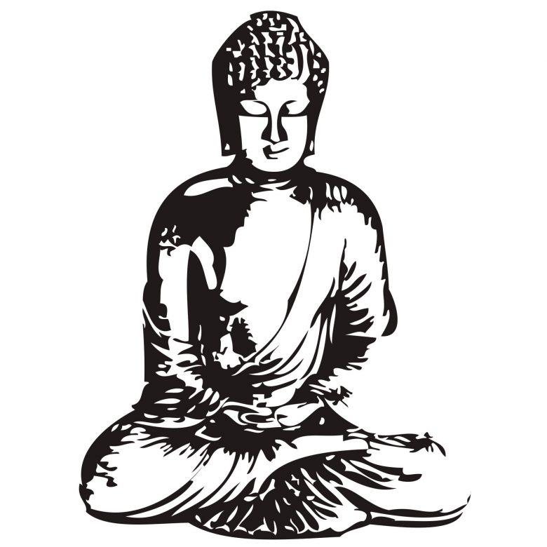780x780 Buddha 2 Wall Sticker