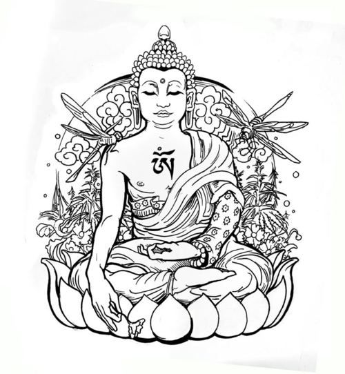 Buddha Drawing Images