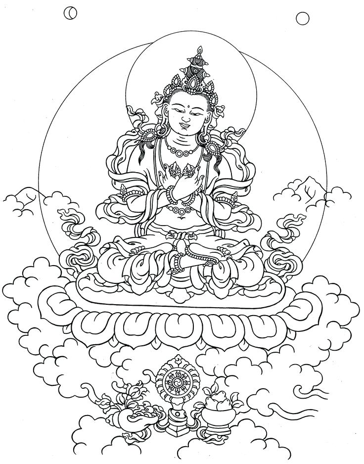 736x938 Buddhist Coloring Pages Image Result For Sketch Buddha Coloring