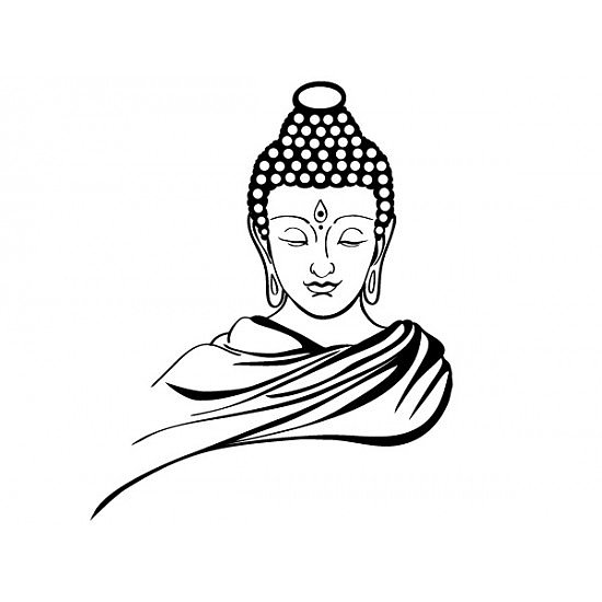 Buddha Face Line Drawing : Buddha drawing images at getdrawings free for