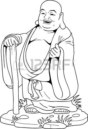307x450 Buddha Drawing Stock Photos. Royalty Free Business Images