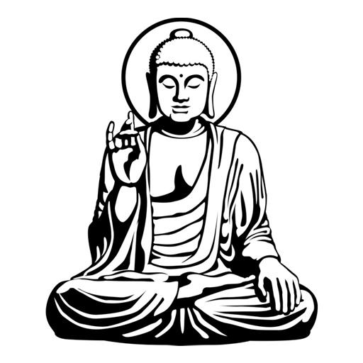 512x512 Gautama Buddha Drawings