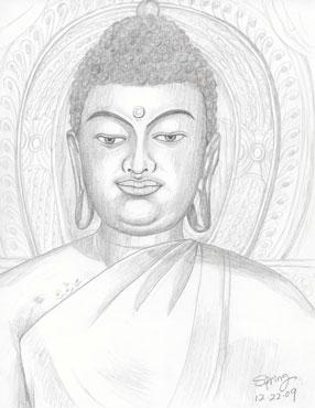 286x370 Buddha Speaking Cards Springs Greeting Cards