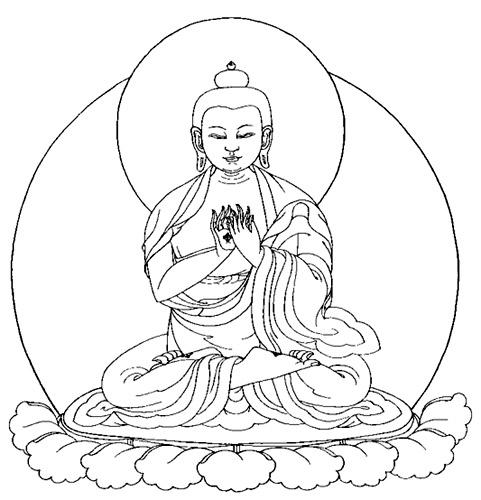 481x500 Clipart Line Drawing Buddha