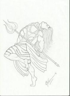 236x324 Shiva Thandavam Drawings