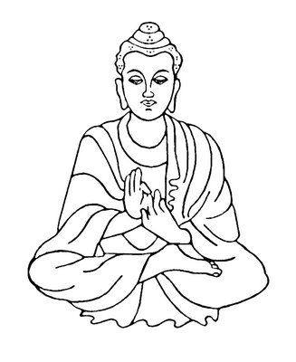327x400 Buddha Kolorowaki Buddha And Kirigami