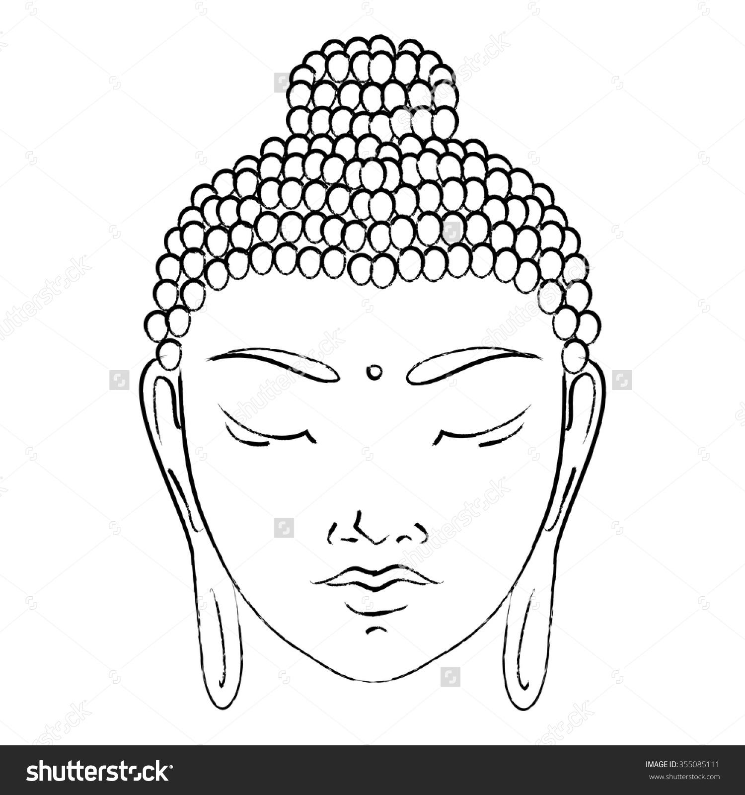 1500x1600 Buddha Clipart Buddha Face
