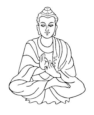 327x400 Buddha Clipart Kid