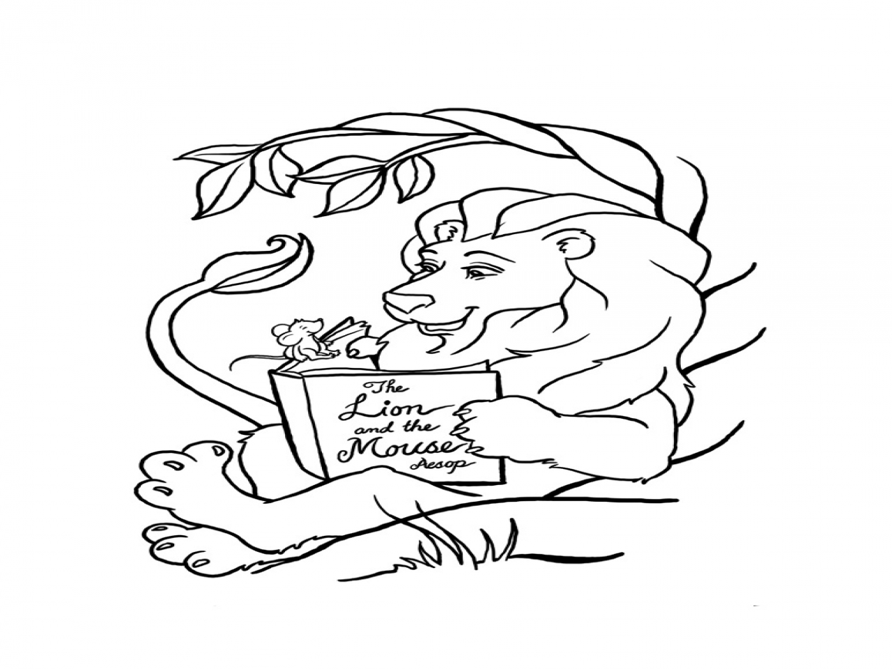 1280x960 Male Lion Coloring Pages For Kids Buddha Page