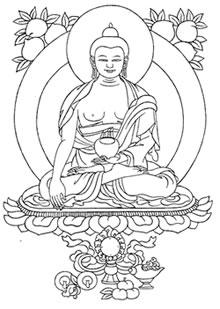 Buddha Easy Drawing