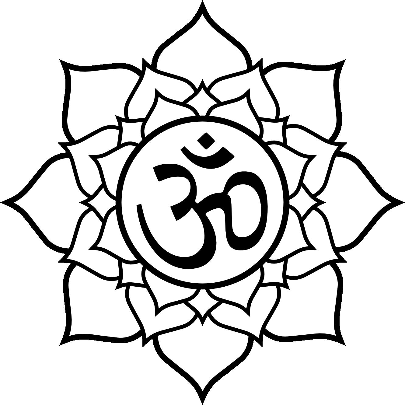 1331x1331 Buddha Flower Drawing