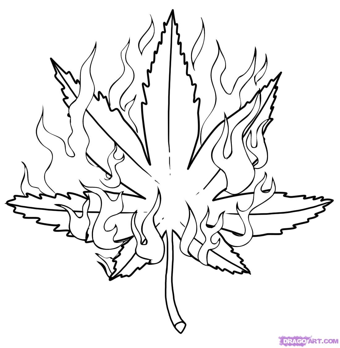 1100x1126 Dining How To Draw A Pot Leaf Step How To Draw A Pot Step By Pop
