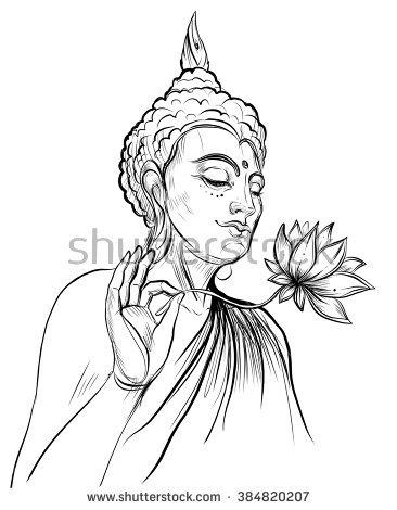 366x470 Drawn Lotus Buddhism