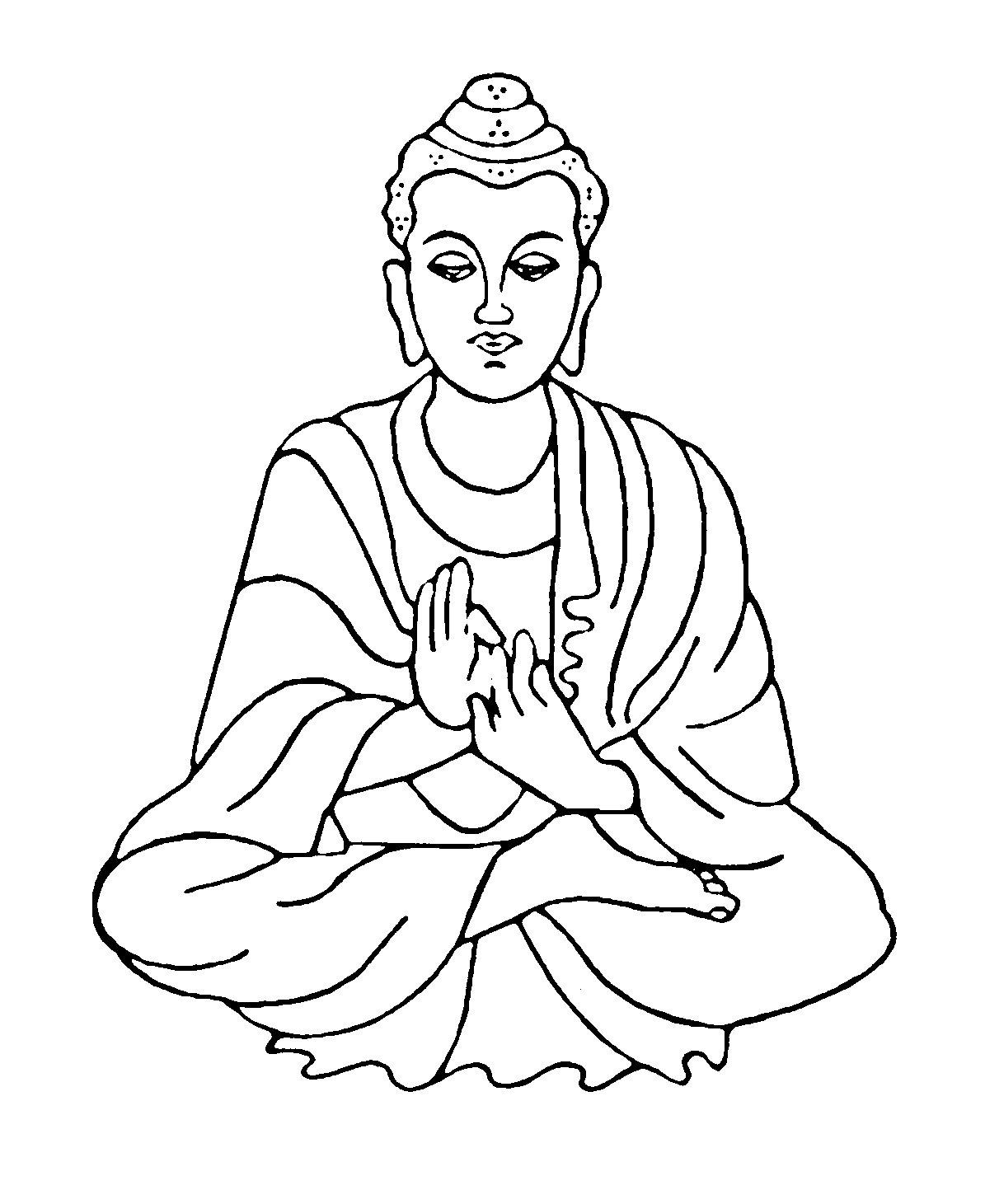 1195x1461 Lord Buddha Clipart