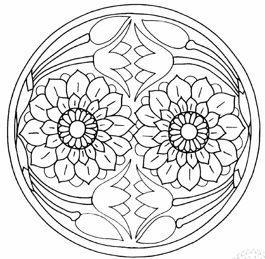 900x879 Buddha Coloring Pages