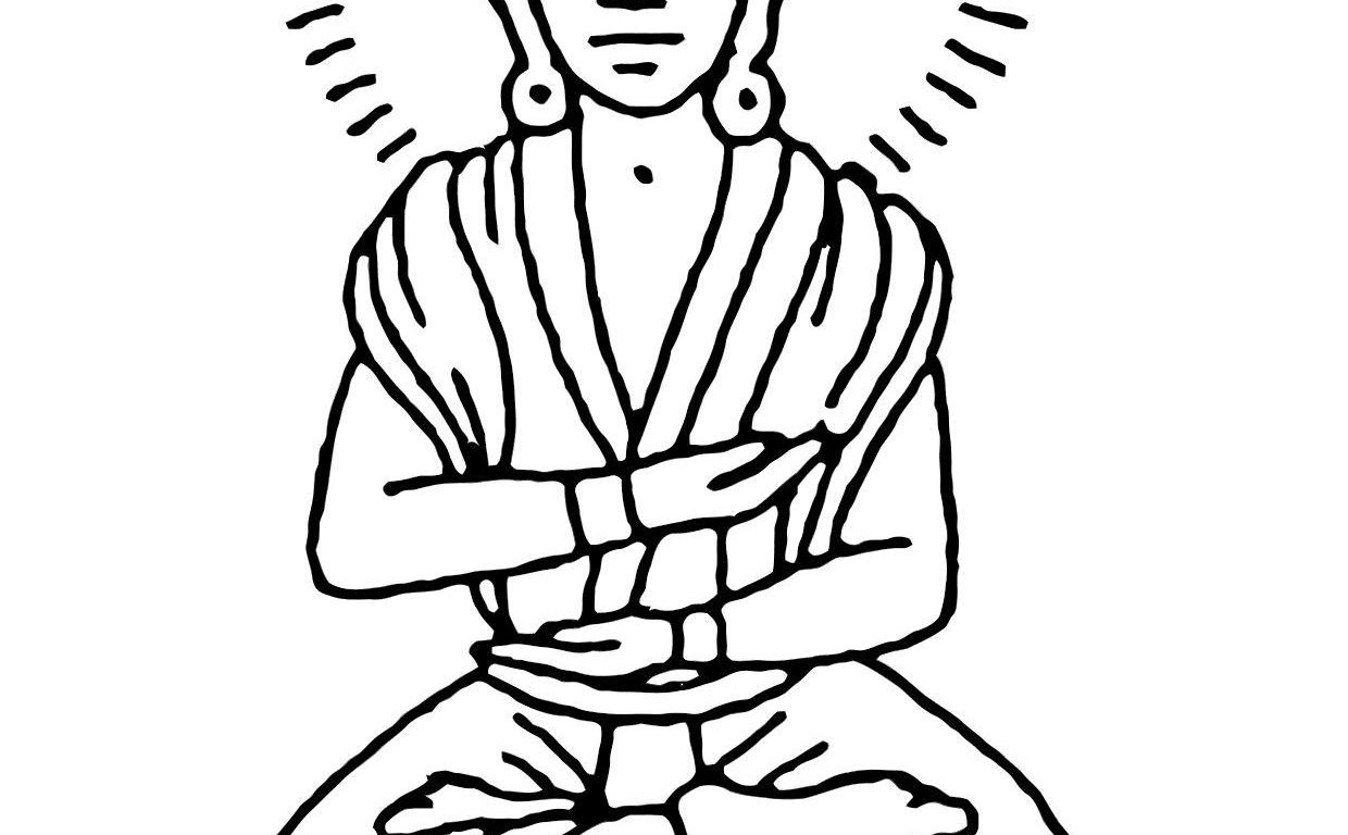 Buddha Face Line Drawing at GetDrawings.com | Free for personal use ...