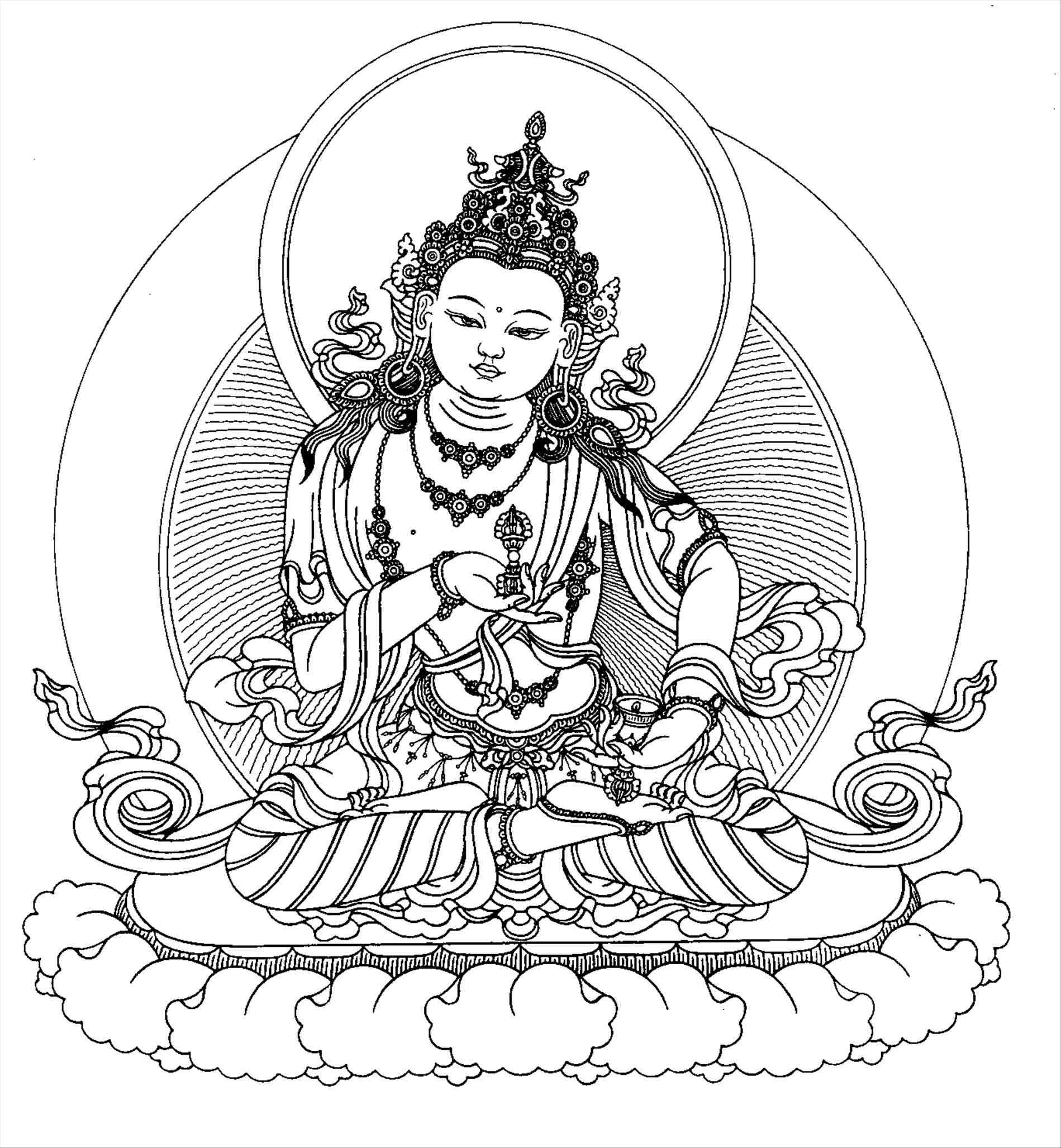 Buddha Face Line Drawing at GetDrawings.com | Free for ...