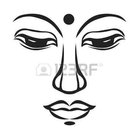 450x450 2,021 Buddha Head Stock Vector Illustration And Royalty Free